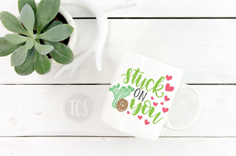 Stuck on You Coffee Mug (CM1039)