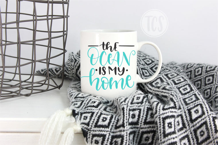 The Ocean is my Home Coffee Mug (CM1052)