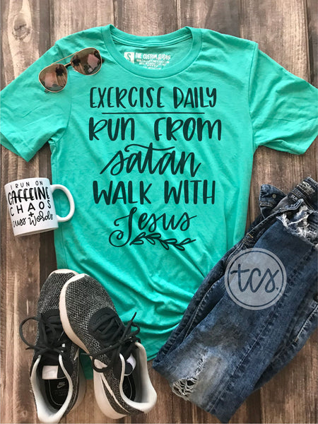 Exercise Daily Statement Tee