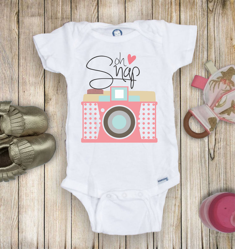 Oh Snap Toddler Infant Tee