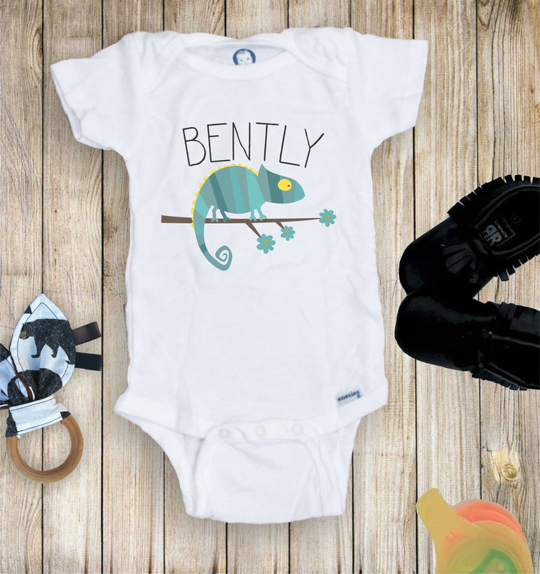 Personalized Chameleon Lizzard  Toddler Infant Tee