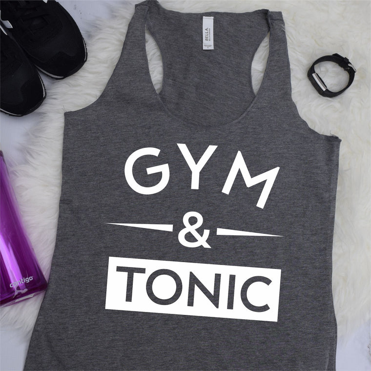 Gym and Tonic Work Out Tank