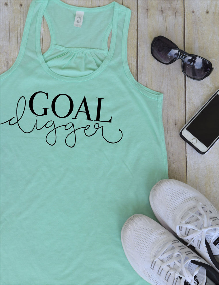Goal Digger Work Out Tank