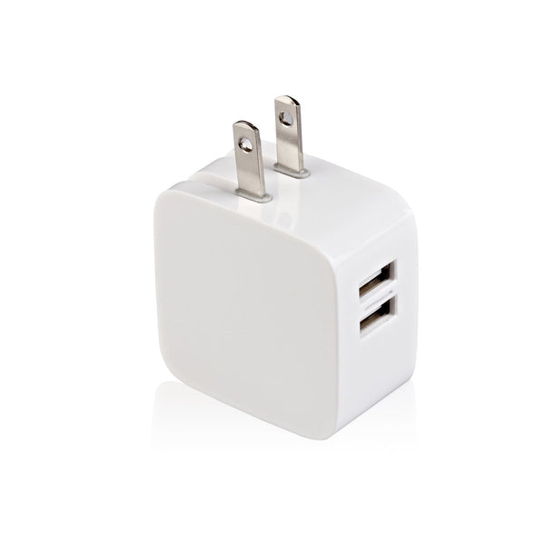 USB Charger, Wall, Dual Port