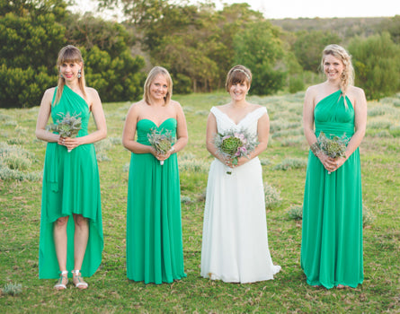 Emerald Green Maxi Infinity Dress