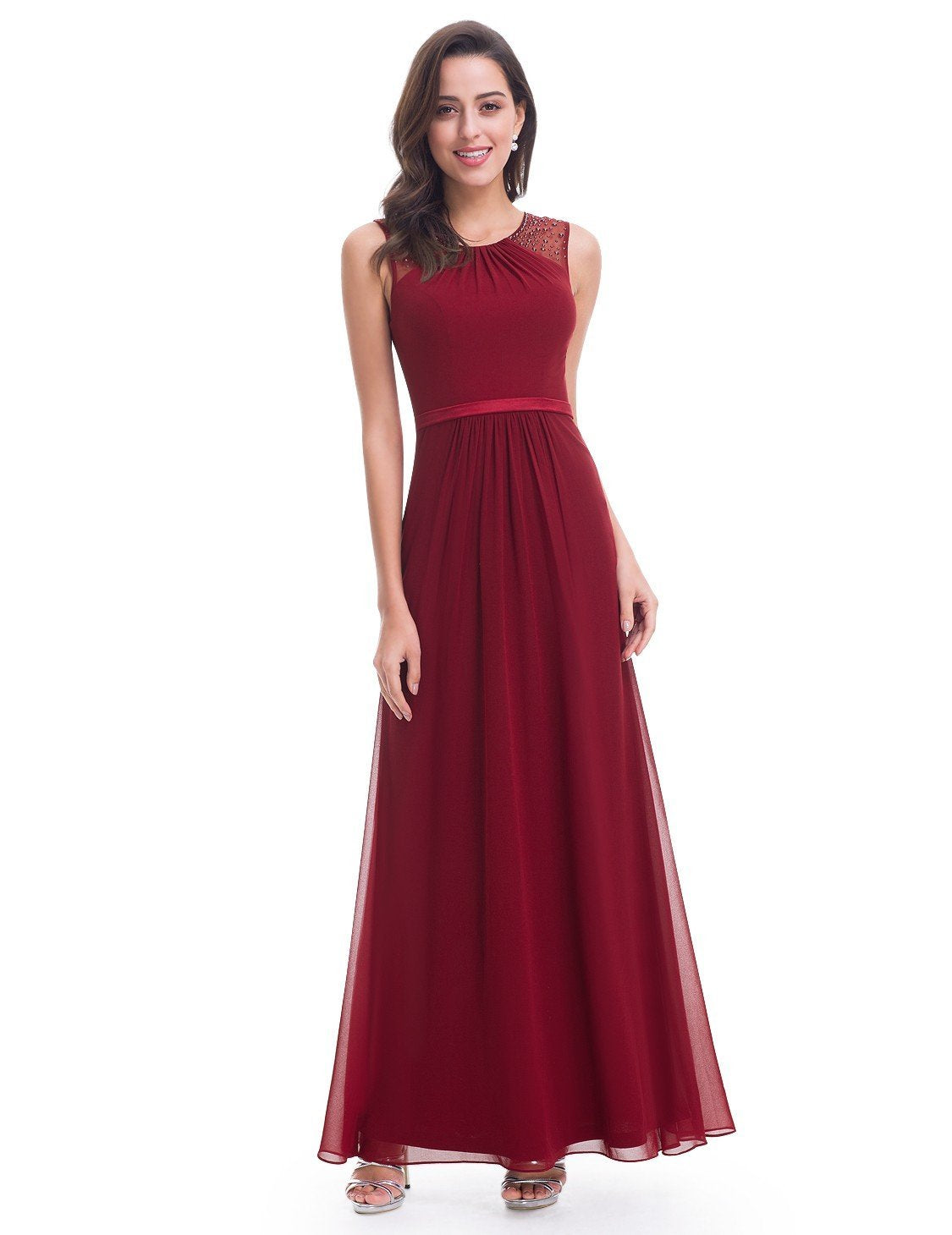 Women's Elegant Sleeveless Long Dress