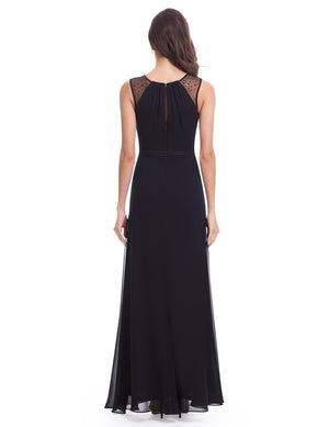 Women's Elegant Sleeveless Long Dress - BP08742