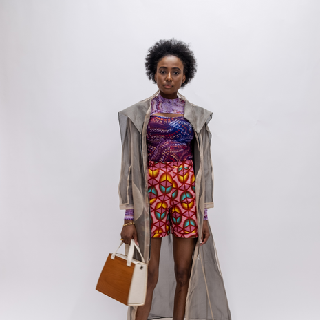 previous kind studios client lone design club with fashion model and key site metrics
