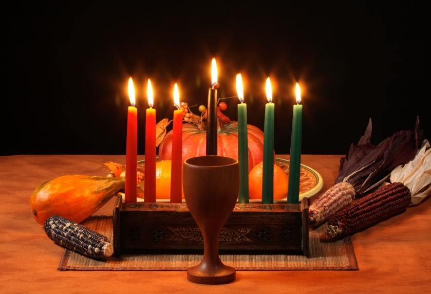 image of Happy Kwanzaa Greeting Card
