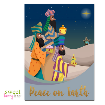 We Three Kings African American Christmas Cards