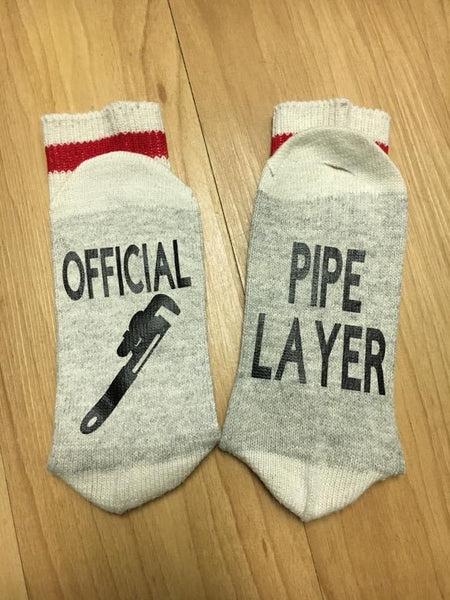 Official Pipe Layer socks