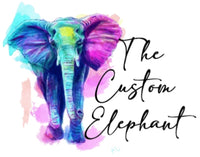 The Custom Elephant Gift Card
