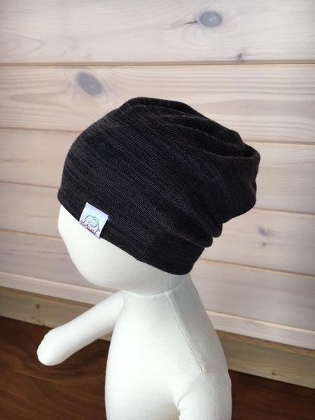Knit Solid Beanies