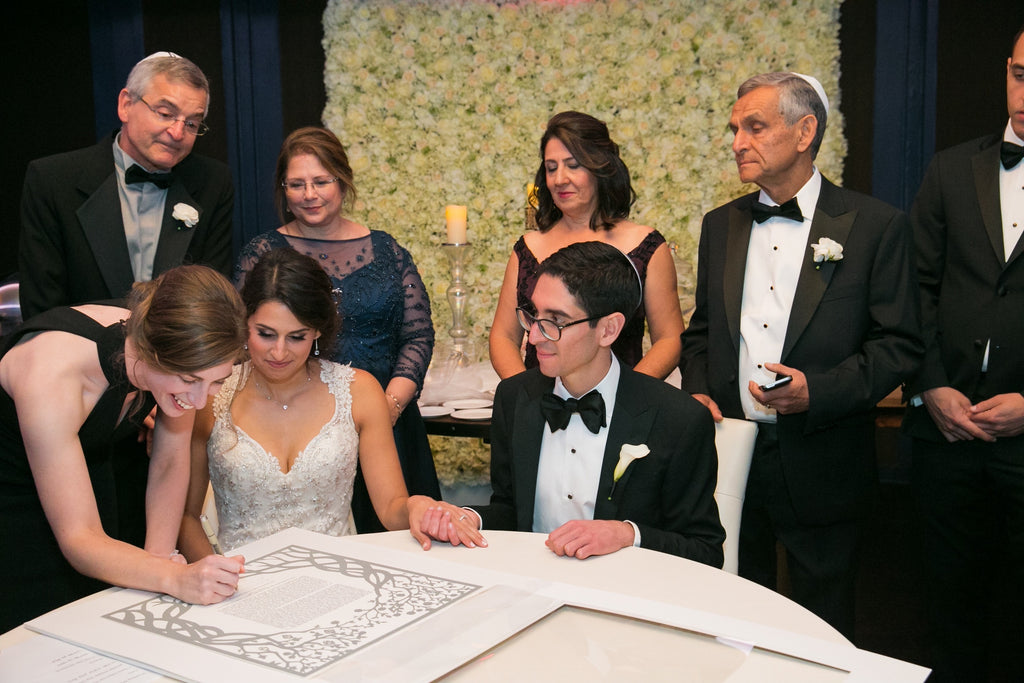 The Ketubah Signing Ceremony