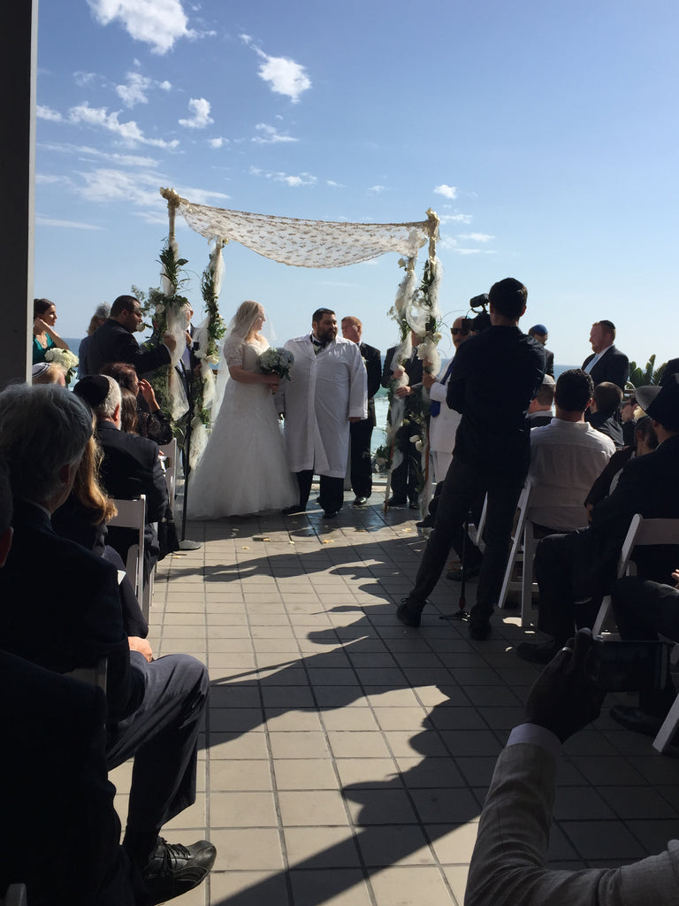 The Ketubah signing at Kylie & Danny's Wedding (Thursday, July 28, 2015)