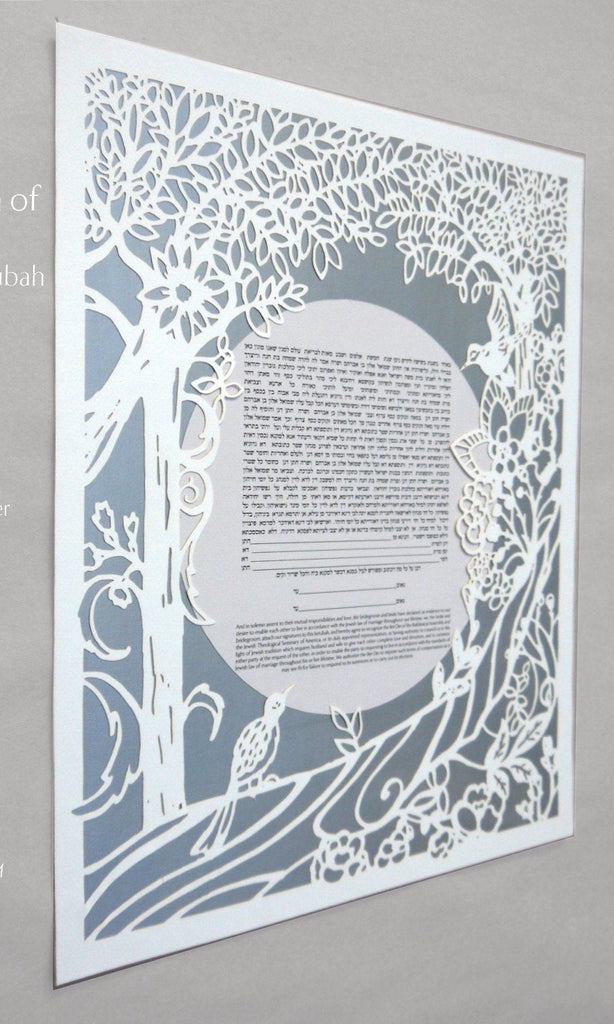 Ecosystem of Love - Papercut Ketubah