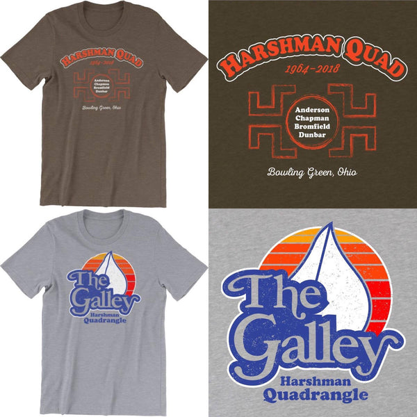 BGSU Harshman Galley T-Shirts Apparel
