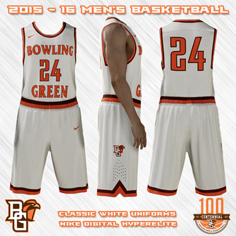 Bowling Green Falcons NEW Basketball Jersey Designs