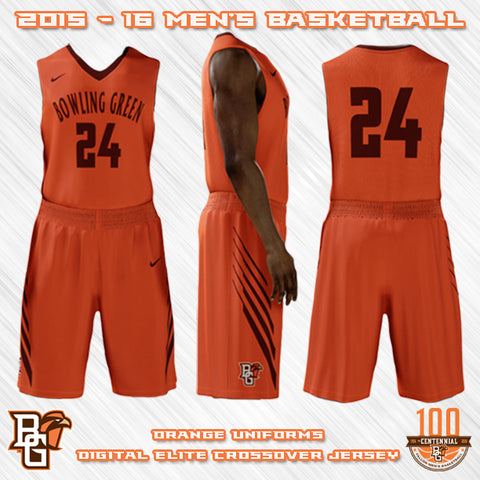 Bowling Green Falcons NEW Basketball Jersey Designs Nike