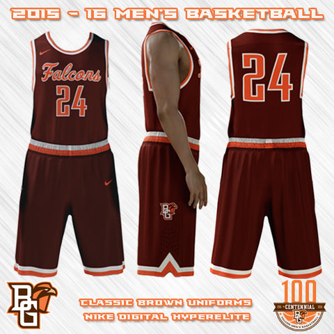 BGSU Falcons NEW Basketball Jersey Designs