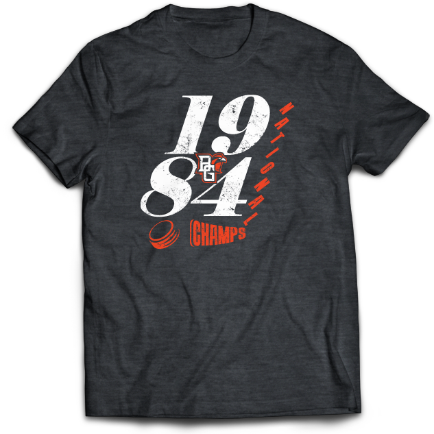 BGSU Hockey 1984 National Champs T Shirt