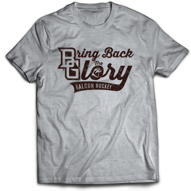 BGSU Bring Back The Glory Hockey T-Shirt
