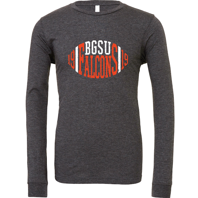 BGSU Falcons Football Since 1919 Long Sleeve T-Shirt
