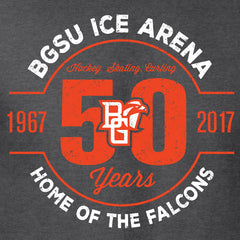 BGSU Falcons Ice Arena 50th Anniversary Women's T-Shirt