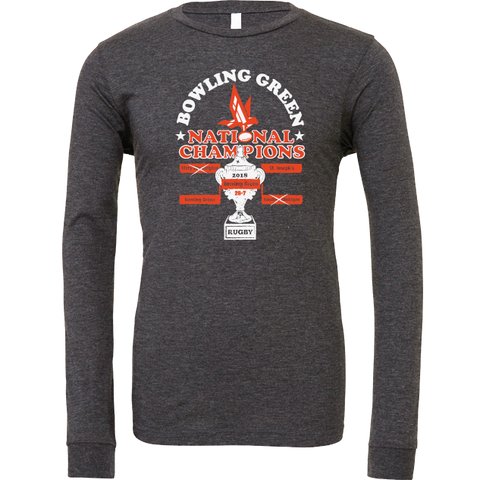 Bowling Green Rugby National Champions Long Sleeve T-Shirt