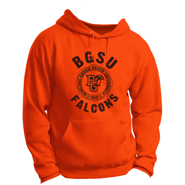 BGSU Falcons University Seal Hoodie (Gildan)
