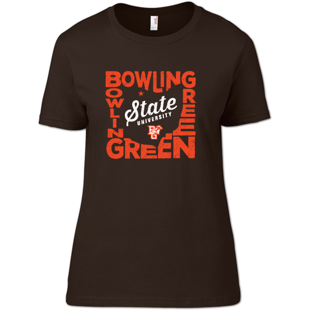 Bowling Green Falcons State Pride Woman's T-Shirt