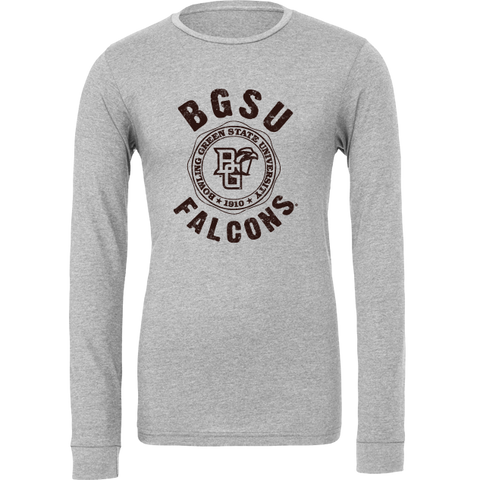 BGSU Falcons Seal Long Sleeve T-Shirt
