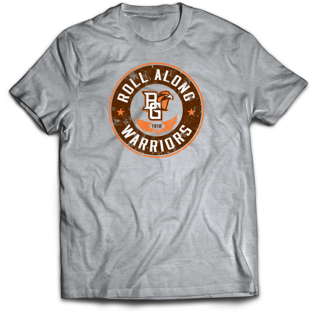 BGSU Roll Along Warriors T-Shirt