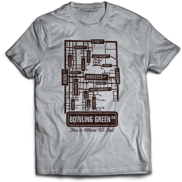 The Streets of Bowling Green T-Shirt