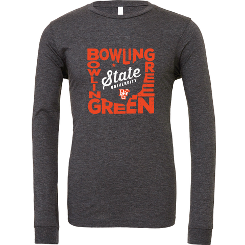 Bowling Green Falcons State Pride Long Sleeve T-Shirt