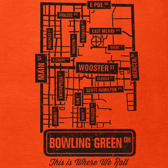 The Streets of Bowling Green Ladies' Slim Fit T-Shirt