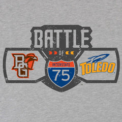 BGSU Falcons Football Battle of I-75 Ladies Slim Fit T-Shirt
