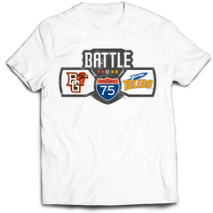 BGSU Falcons Football Battle of I-75 T-Shirt