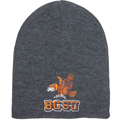 BGSU Falcons Embroidered Vintage Beanie Winter Hat