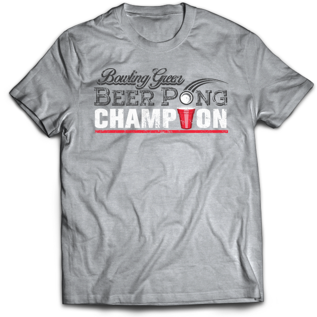 BGSU Beer Pong Champion T-Shirt