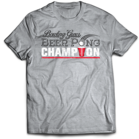 Bowling Green Beer Pong Champion T-Shirt