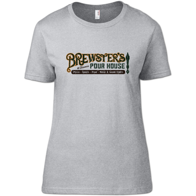 Bowling Green Brewster's Pour House Ladies' T-Shirt