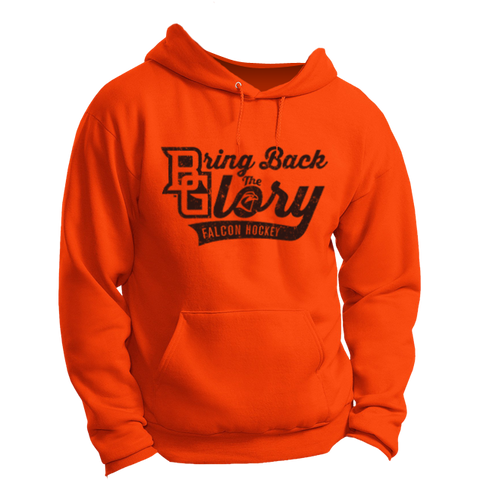 BGSU Bring Back The Glory Hockey Hoodie (Gildan)
