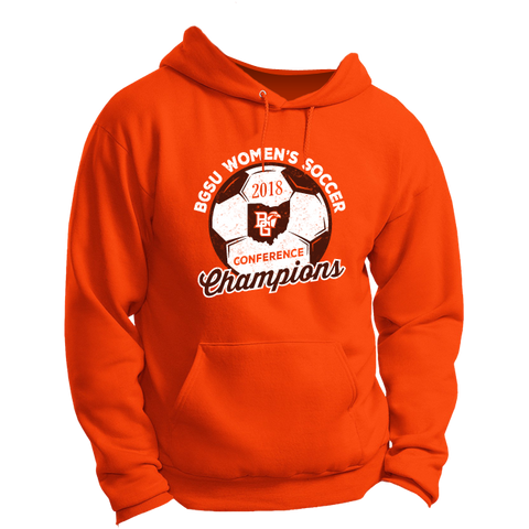 BGSU Falcons Women's Soccer MAC Champs Hoodie