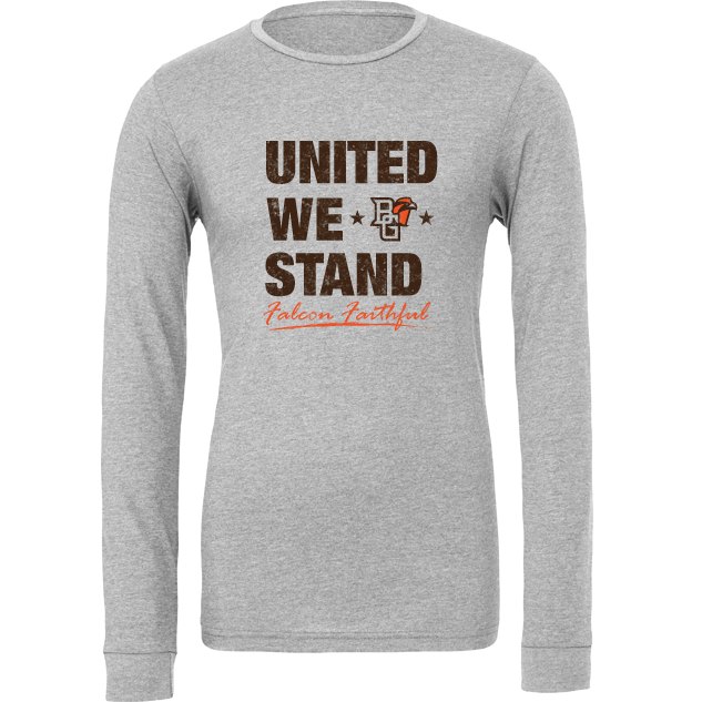 BGSU Falcon Faithful Long Sleeve T-Shirt