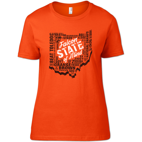 Falcon State of Mind BGSU Woman's T-Shirt