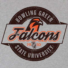 BGSU Falcons Long Sleeve Retro T-Shirt