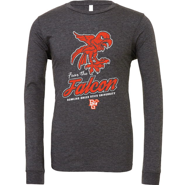 BGSU Fear The Falcons Long Sleeve T-Shirt