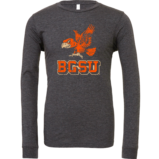 BGSU Falcons Vintage Long Sleeve T-Shirt