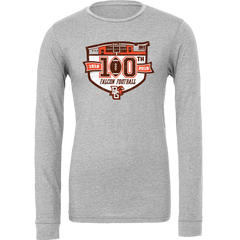 BGSU Falcons Football 100th Year Commemorative Long Sleeve Tee
